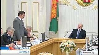 Александр Лукашенко - совещание по жилищному строительству 4.06.2013
