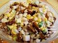 салат сухарики фасоль рецепт с фото