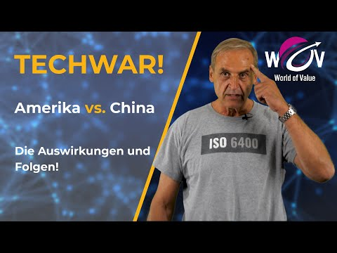 Amerika gegen China - Das hat der Technologiekrieg zur Folge! | Florian Homm