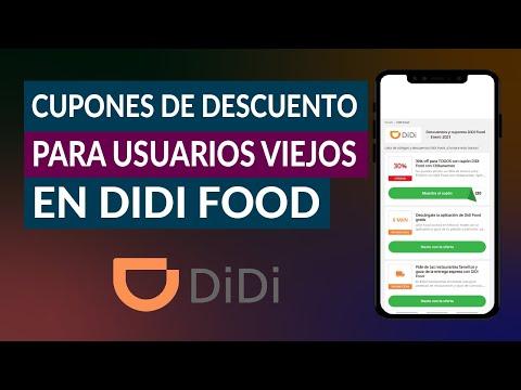 Cómo Obtener y Usar los Cupones de Descuento en DIDI Food para Usuarios Viejos