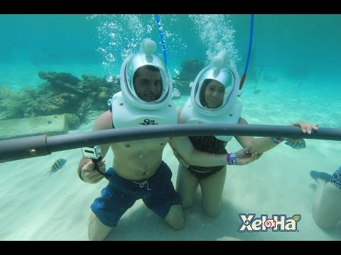 Sea Trek Sting Ray City @ Xel Ha HD