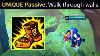 Boots of Mobility = WALKING THROUGH WALLS?! Gamebreaking Bug!