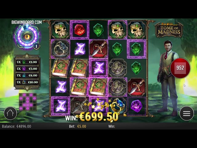 TOME OF MADNESS (PLAY'N GO) - NEW SLOT