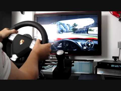 fanatec porsche 911 turbo s youtube. Black Bedroom Furniture Sets. Home Design Ideas