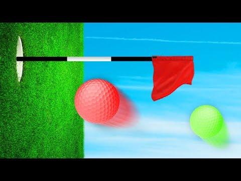 INTENSE INCEPTION CRAZY GOLF! (Golf It)