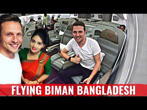 Review: BIMAN BANGLADESH 787 BUSINESS CLASS - The World's most UNIQUE Airline?