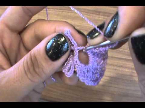 Como tejer flor dise o 1 rehilete ganchillo crochet youtube - Como hacer flores de ganchillo ...
