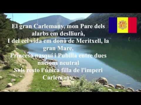 Andorra national anthem lyrics - El Gran Carlemany