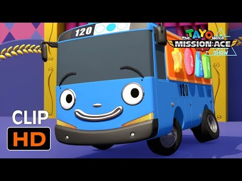The Tayo Movie - music show! l Just like strong heavy vehicles! l Tayo the Little Bus