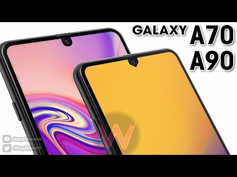 Galaxy A70 & A90 With New Infinity Display!