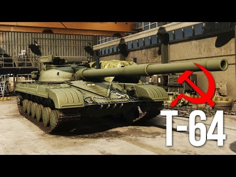 Armored Warfare T-64 Gameplay - Russian Power