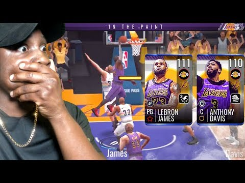 111 OVR LEBRON JAMES & ANTHONY DAVIS ARE HACKS! NBA Live Mobile 19 Season 3 Ep. 137