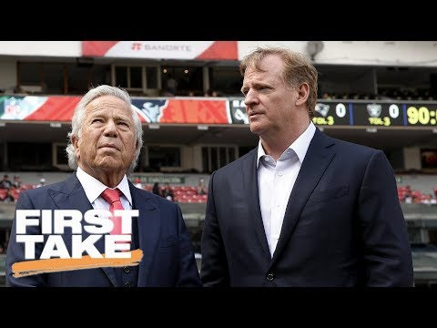 First Take reacts to Roger Goodell's 5-year $40 million contract extension | First Take | ESPN