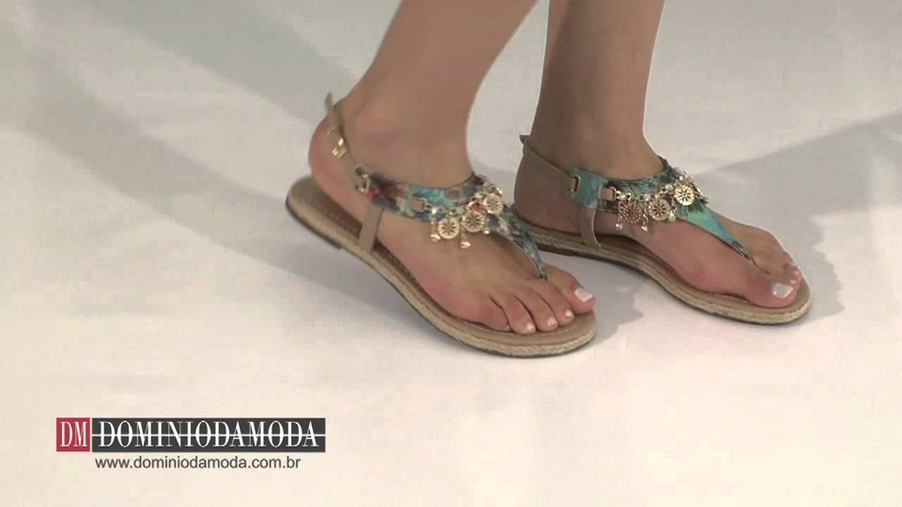 De sandalia azul da marca moleca - 5 1