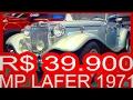 TRIUNFO R$ 39.900 MP Lafer Conversível 1971 Réplica #MPLafer