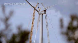 Die Kraft des Windes, Teil 5 von 5, Kleinwindanlagen und große Windkraftwerke sorgen für Windenergie
