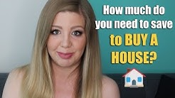 How Much Do You Need to Save For a Down Payment to Buy a House?