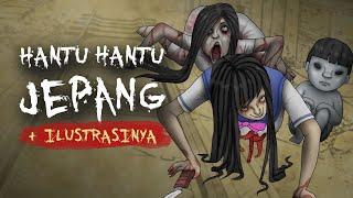 Jenis Hantu hantu Jepang + Ilustrasi | Kartun Hantu & Cerita Misteri Horror, Rizky Riplay