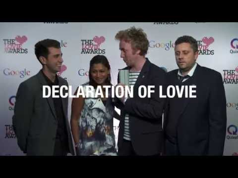 JWT London Declaration of Lovie at The 4th Annual Lovie Awards