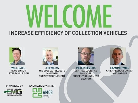 AMCS Webinar - Increase Efficiency of Collection Vehicles