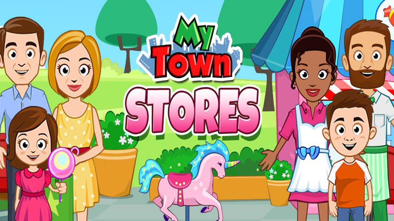 My Town : Stores (My Town Games LTD) - Best App For Kids - YouTube