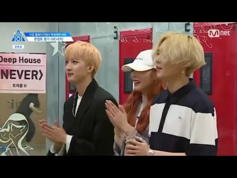 Trainees fanboying over Triple H  | Produce 101 S2