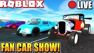 Roblox Vehicle Simulator Weekly Car Show! [ROBUX PRIZES] (Week 4)
