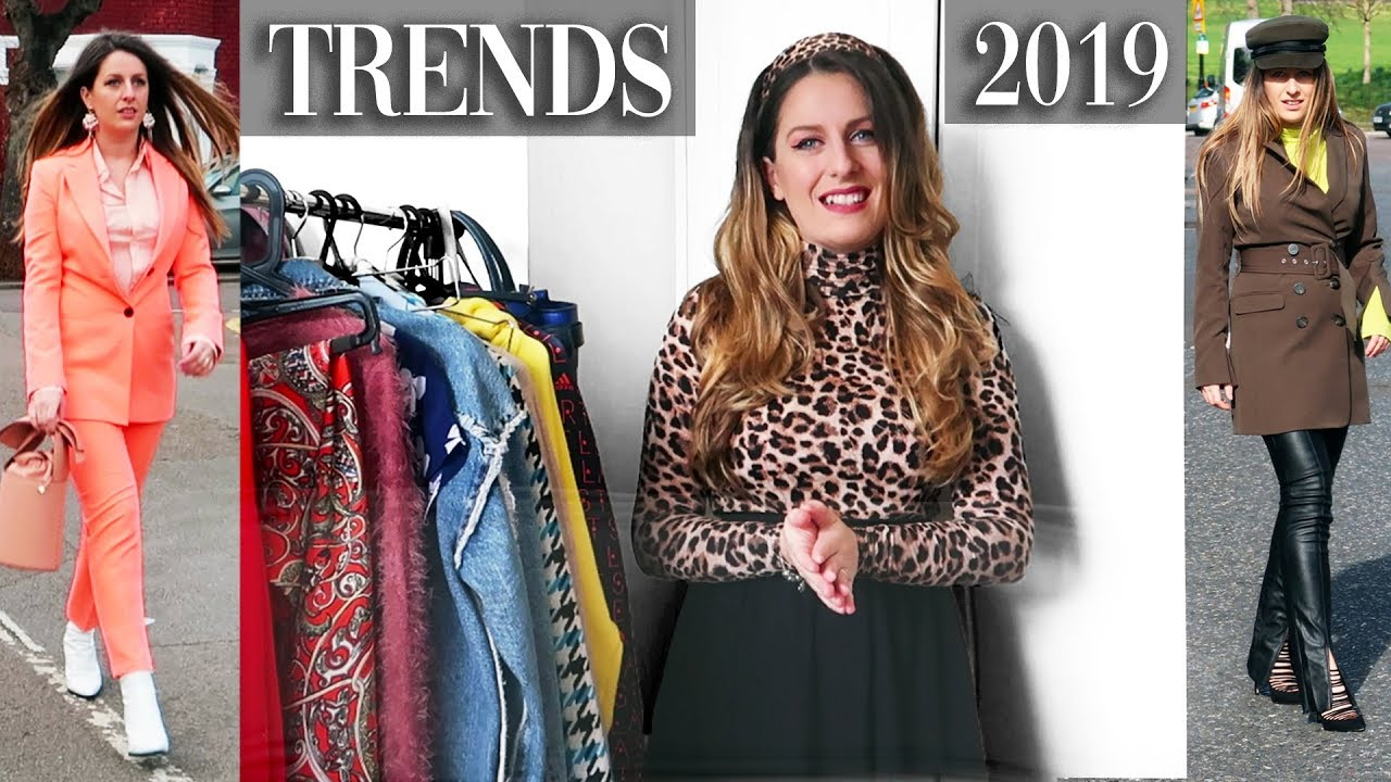 TRENDS 2019   HOW TO WEAR AND STYLE   LOOKBOOK   SPRING FASHION TRENDS
