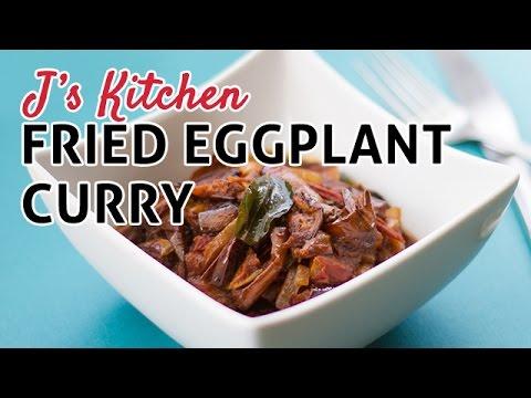 Fried eggplant curry sri lankan dish easy vegan vegetarian fried eggplant curry sri lankan dish easy vegan vegetarian recipe forumfinder Choice Image
