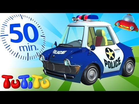 TuTiTu Specials | Police Car Toy | And Other Toys On Wheels | 50 Minutes Special