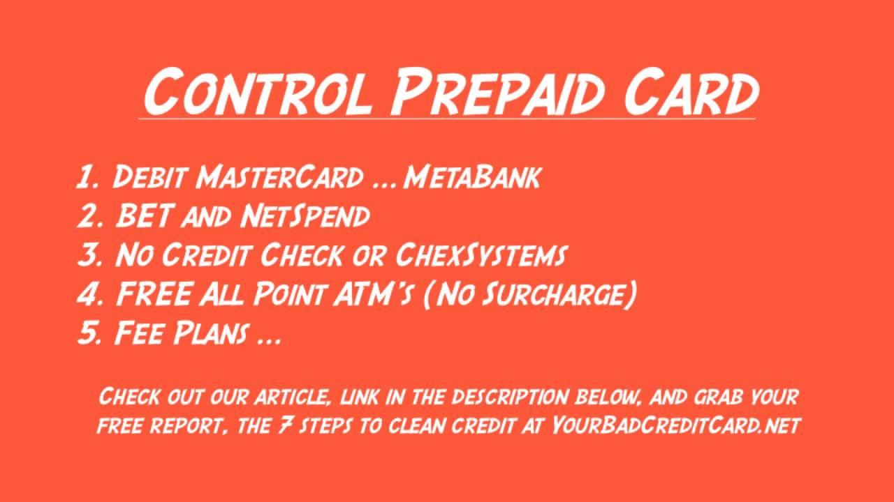 control prepaid card youtube - Control Prepaid Card