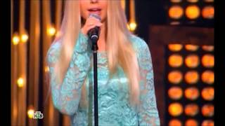 "Мария Калошина на шоу ""Хочу в ВИА Гру!""."