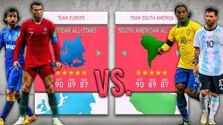 European ALL-STARS vs. South American ALL-STARS! - FIFA 20 Career Mode