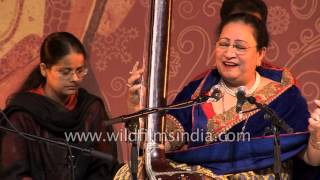 Begum Parveen Sultana: Assamese Hindustani classical singer of Patiala Gharana - Part 1