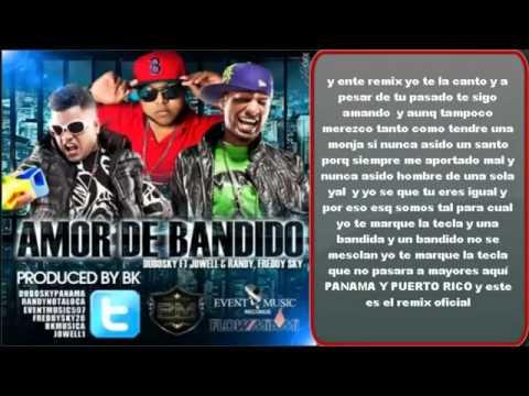 Jowel y Randy ft Dubosky   Amor De Bandidos Official Remix