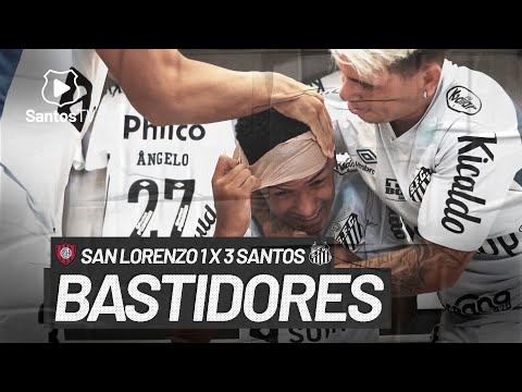 SAN LORENZO 1 X 3 SANTOS   BASTIDORES   CONMEBOL LIBERTADORES (07/04/21)