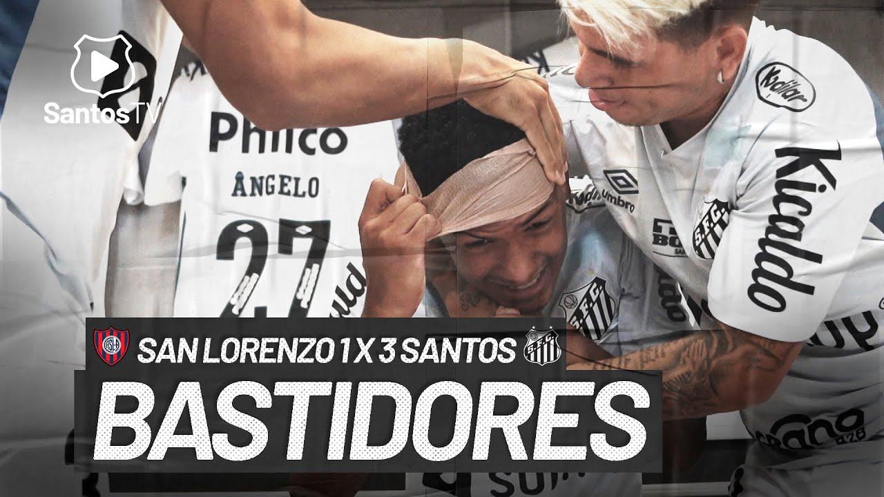 SAN LORENZO 1 X 3 SANTOS | BASTIDORES | CONMEBOL LIBERTADORES (07/04/21)