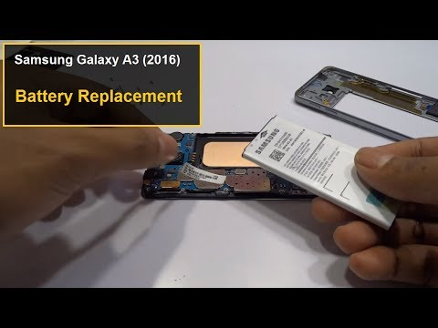 Samsung Galaxy A3 2016 Battery Replacement