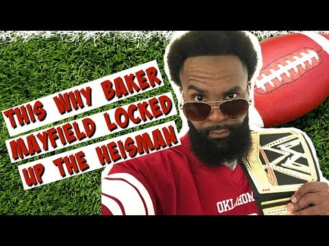 This Is Why Baker Mayfield Locked Up The Heisman Trophy | Oklahoma Football