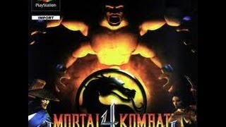 Game | Mortal Kombat 4 PlayStation | Mortal Kombat 4 PlayStation