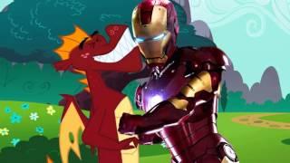 - Железный человек и Пони Iron Man meets My Little Pony Rus by Rissy