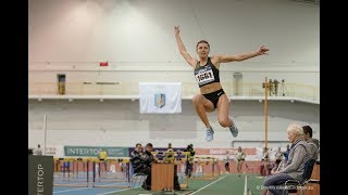 Ukrainian Indoor Championships 2019. Highlights of Day 2 (evening session)