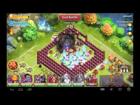 Castle Clash: Warlock And Deathknight Skill Conflict?