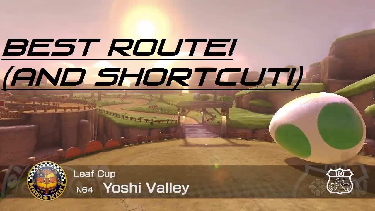 Mario Kart 64 Yoshi Valley Best Route Shortcut Youtube