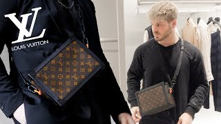 Luxury Shopping Vlog at Louis Vuitton | SS19 Virgil Abloh Soft Trunk Unboxing