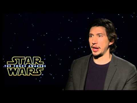 Star Wars: The Force Awakens: Adam Driver Official Movie Interview