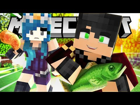 WILL WE SURVIVE? WE GO CAMPING IN MINECRAFT!