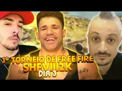 1° TORNEIO DE FREE FIRE SHEVIII2K - DIA 3 ft Dilera & Weedzao