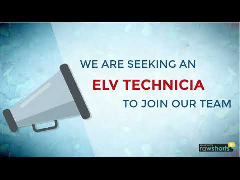 Recruiting ELV Technician