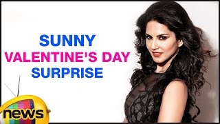 Sunny leone about her husband valentine's day surprise | mango news